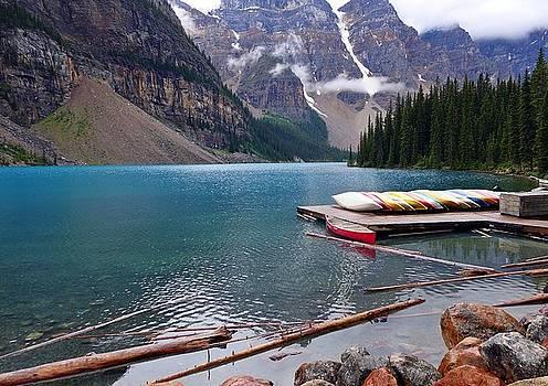 Moraine Lake, AB  by Heather Vopni