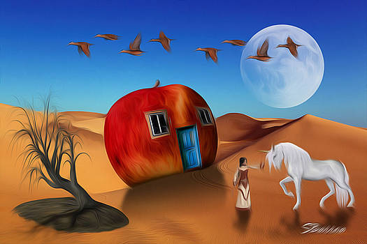 Dream World by Surreal Photomanipulation