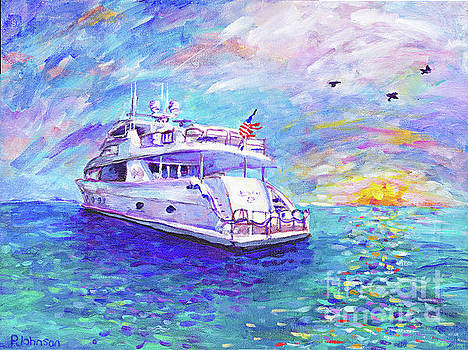 Dream Yacht by Peggy Johnson by Peggy Johnson
