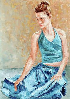 Dreamer in blue by Beata Belanszky-Demko