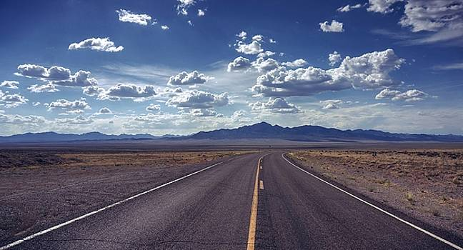 Dreaming about the Extraterrestrial Highway by Quality HDR Photography