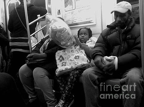 Dreaming Big Dreams - Subways of New York by Miriam Danar