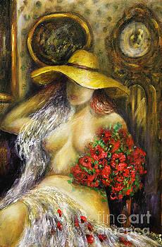Dreaming Lady by Dariusz Orszulik