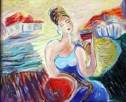 Dreaming Lady by Nataliya Yutanova