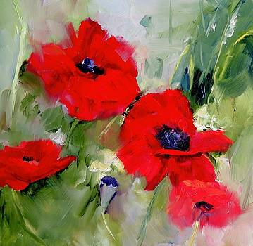 Dreaming of Poppies by Carol Hopper