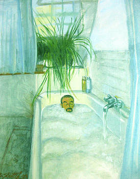 Dreaming of summer from my bathtub by Zois Shuttie