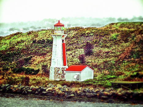 Dreaming of the Georges Island Light in Halifax by Bill Swartwout