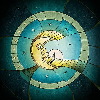 Dreaming On The Moon by Ervin Hajdu