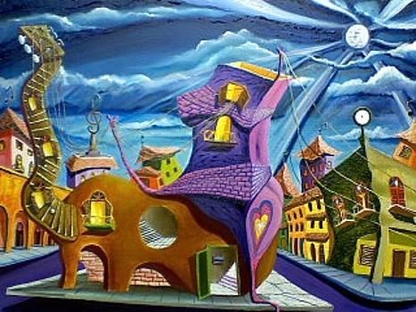 Dreaming With Melody by Celestino Hernandez