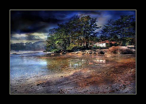 Dreamscape Of Solace Shores by Bob Kramer