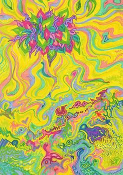 Dreamscaped Swamp-Garden 1 by Julia Woodman