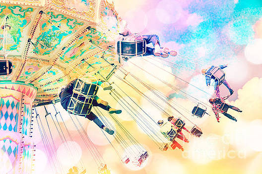 Delphimages Photo Creations - Dreamy pastel carnival
