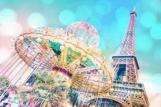 Delphimages Photo Creations - Dreamy pastel carousel