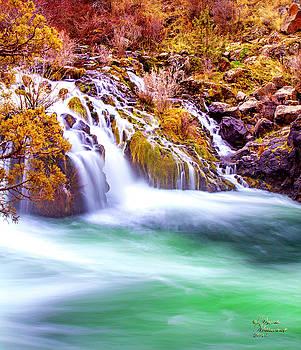 Dreamy Waterfall by David Millenheft