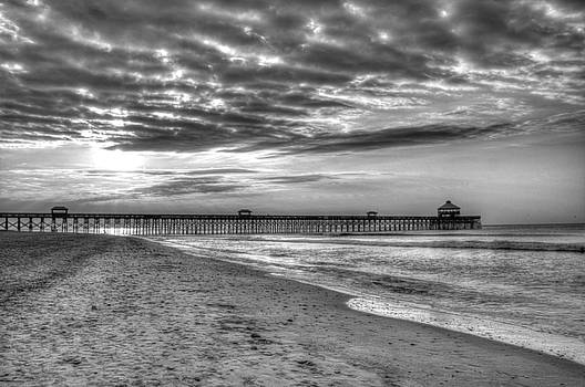 Dreary Morning at the Pier by BG Flanders