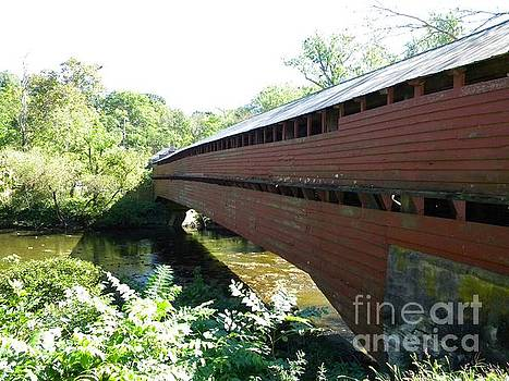 Dreibelbis Station Covered Bridge #2 by Kristy Evans