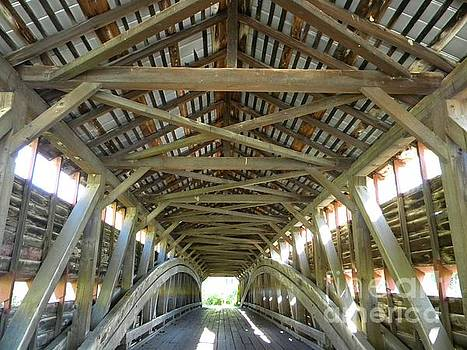Dreibelbis Station Covered Bridge by Kristy Evans