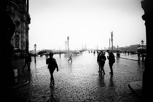 Dresden - Schlossplatz by Dorit Fuhg