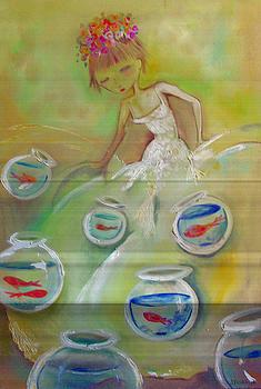 Dress Of Fishbowls by Jenna Fournier