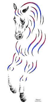 Kelli Swan - Dressage Horse Dancer Print