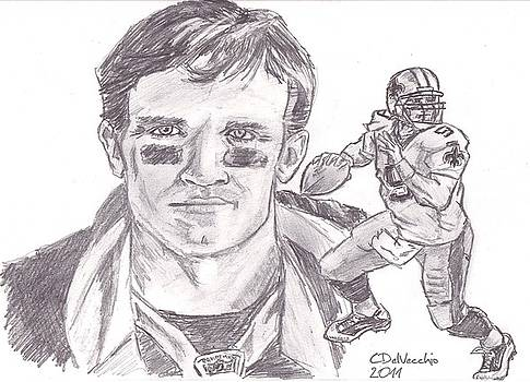 Chris  DelVecchio - Drew Brees
