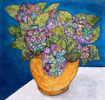 Dried Hydrangea by Janet Immordino