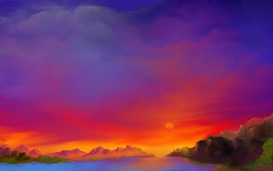 Drifters Sunset by Joanna Randolph