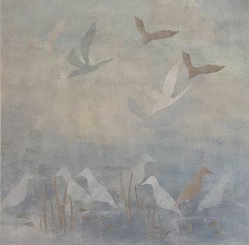 Drifting Birds in the Mist by Kathrine Fisker