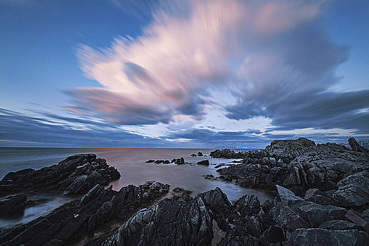 Drifting clouds II by Frank Olsen