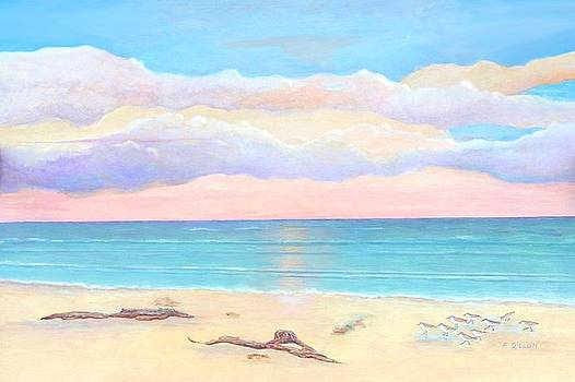 Driftwood Beach by Frances  Dillon