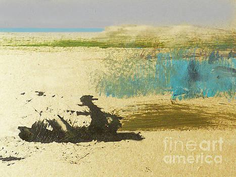 Sharon Williams Eng - Driftwood on the Beach