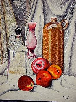 Drink And Fruit by Ron Sylvia