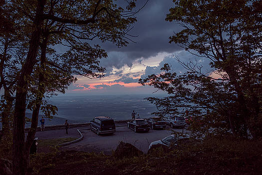Drive-In Sunset by Doug Ash