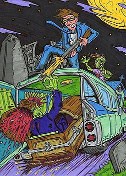 Drive through the Graveyard by Anthony Snyder