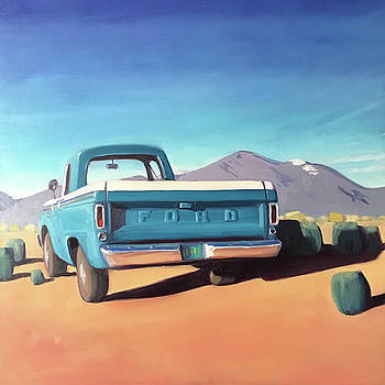 Drive through the Sagebrush by Elizabeth Jose
