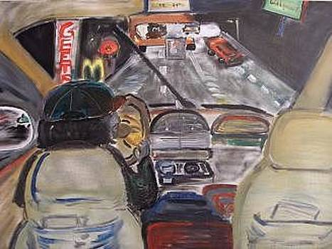 Driving By Geets Diner by Bob Smith