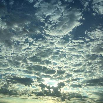 Driving Into A Dream. #blessed #skyporn by Christi Vest