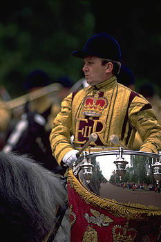 Drum Horse at Trooping The Colour by Travel Pics