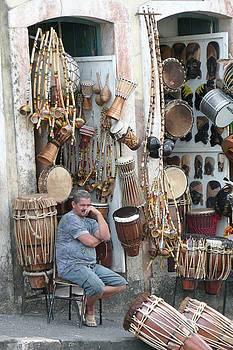 Drum Shop by Kathy Schumann