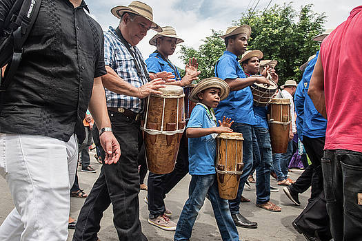 Drummer Boy in Parade by Tod Colbert