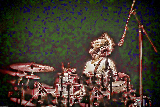 Mick Anderson - Drummer Cactus Moser