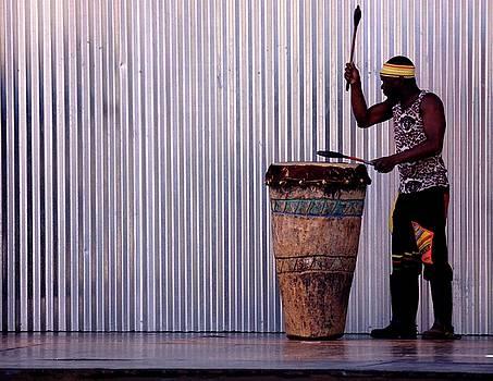 Drummer by Jaqueline Briel