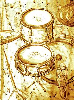 Drummers View II by Pete Maier