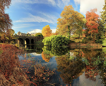 Drummond Garden Reflections by Grant Glendinning