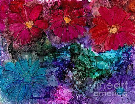 Drunken Flowers by Conni Schaftenaar