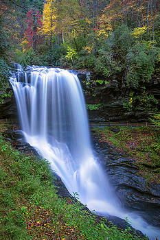 Dry Falls in fall color by Dawnfire Photography