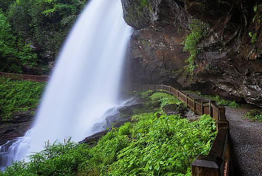 Ranjay Mitra - Dry Falls in North Carolina in Spring