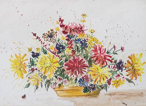 Dry Flower Still Life by Gaynell Parker