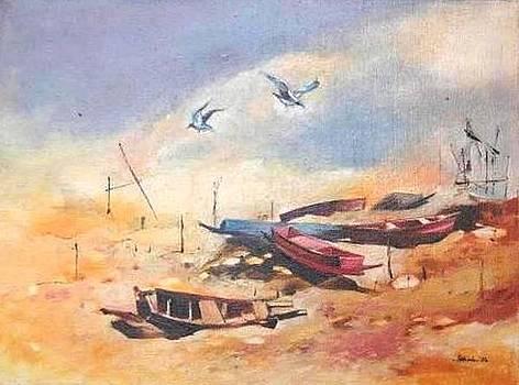Dry Shore by Prakash Sree S N