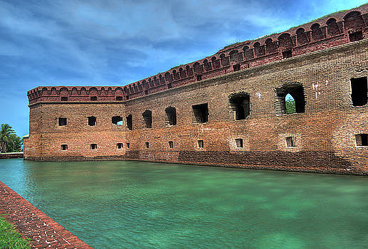 Dry Tortugas - Fort Jefferson - Front by Timothy Lowry